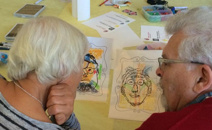 Kleur bekennen - inspiratieworkshops voor vrijwilligers